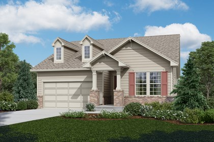 New Homes in Longmont, CO - Crestview - Elevation A