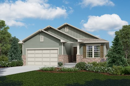 New Homes in Longmont, CO - Chaucer - Elevation A