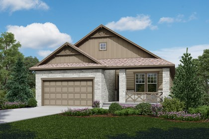 New Homes in Longmont, CO - Chaucer - Elevation B