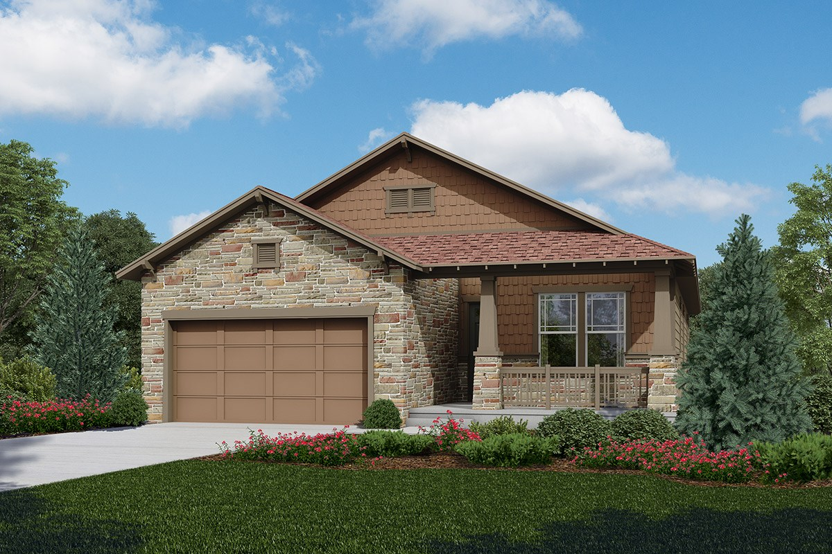 New Homes in Longmont, CO - The Reserve at Somerset Meadows  Chaucer - Elevation C