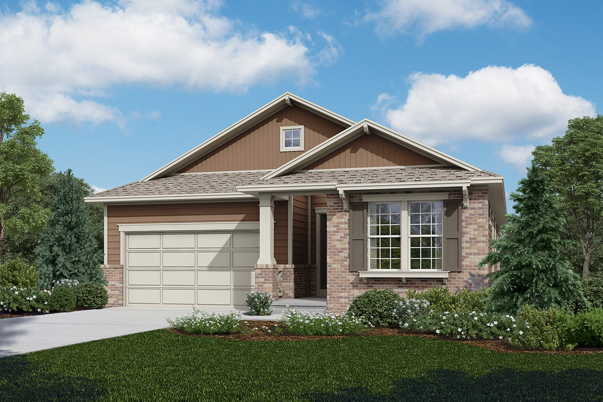 New Homes in Longmont, CO - The Reserve at Somerset Meadows  Greenland - Elevation A