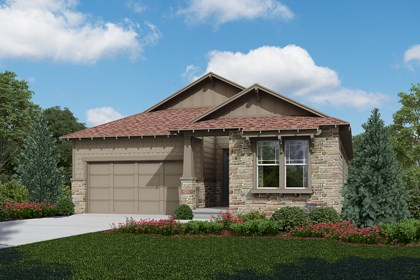 New Homes in Longmont, CO - Greenland - Elevation C