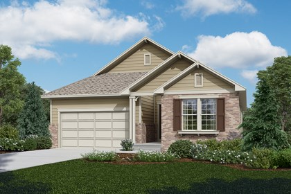 New Homes in Longmont, CO - Locust - Elevation A