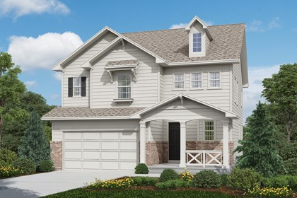New Homes in Longmont, CO - Hilltop - Elevation A