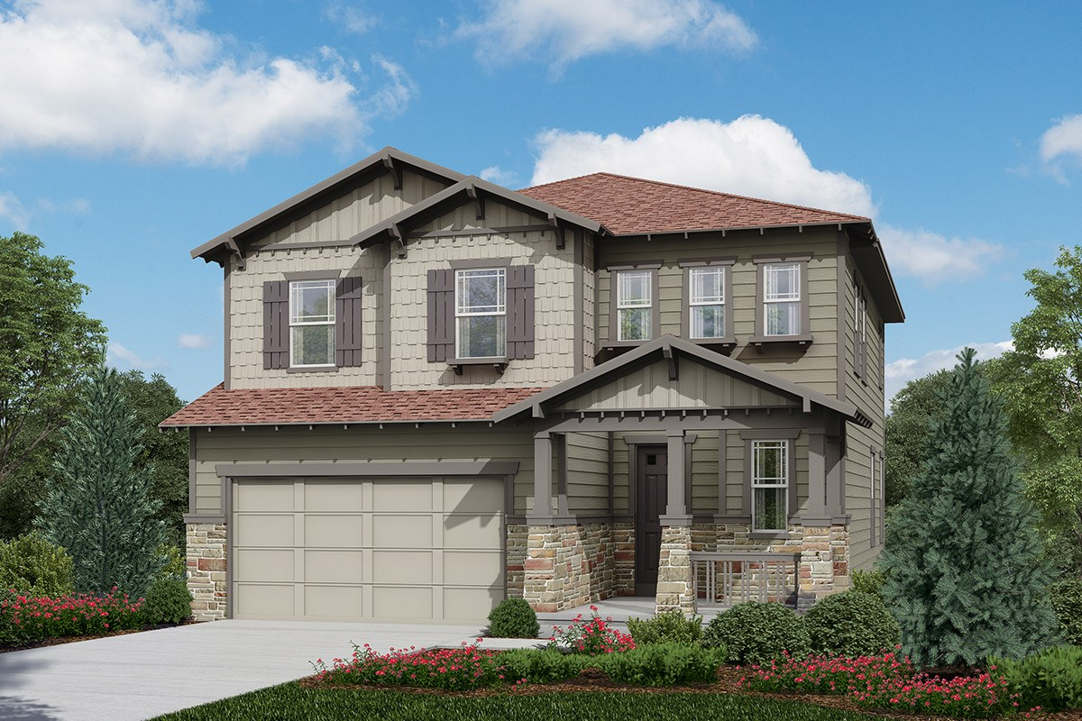 New Homes in Longmont, CO - The Reserve at Somerset Meadows  Hilltop - Elevation C