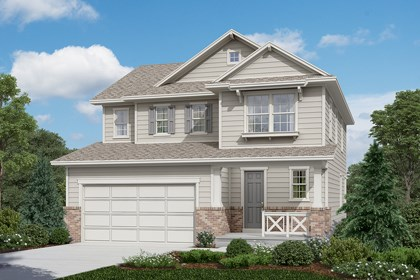 New Homes in Longmont, CO - Kittredge - Elevation A