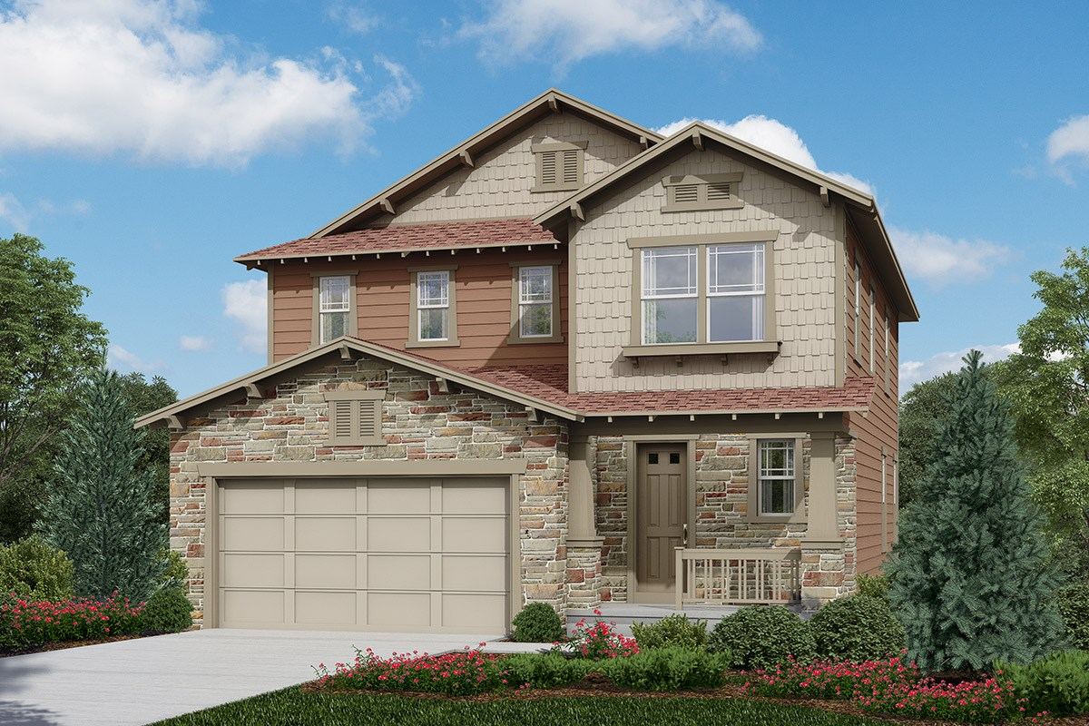 New Homes in Longmont, CO - The Reserve at Somerset Meadows  Kittredge - Elevation C