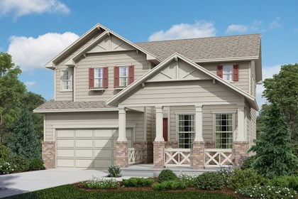New Homes in Longmont, CO - Lafayette - Elevation A
