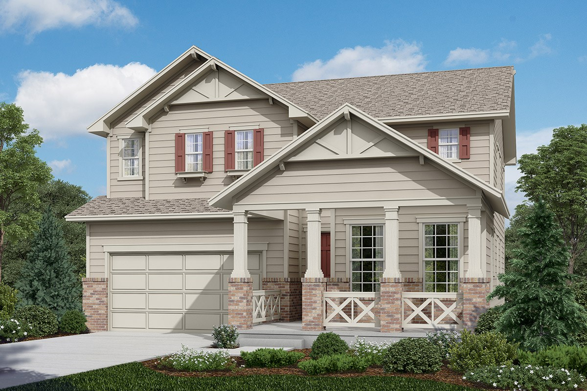 New Homes in Longmont, CO - The Reserve at Somerset Meadows  Lafayette - Elevation B