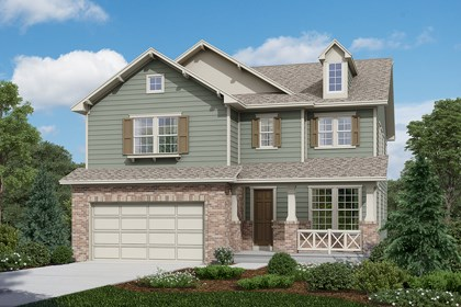 New Homes in Longmont, CO - Montrose - Elevation A