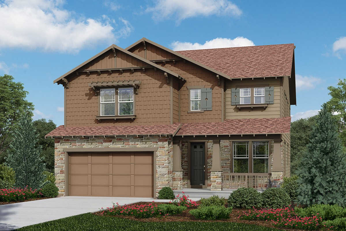 New Homes in Longmont, CO - The Reserve at Somerset Meadows  Montrose - Elevation C