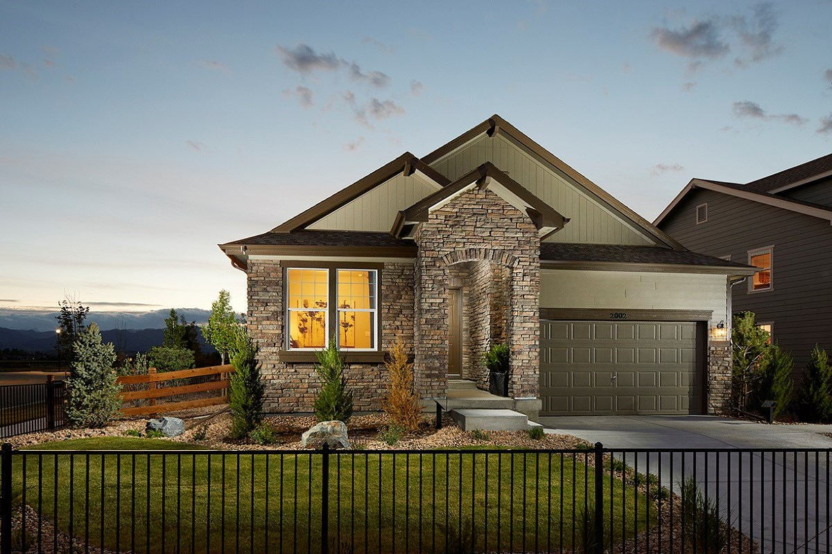 New Homes in Longmont, CO - The Reserve at Somerset Meadows  Crestview Modeled
