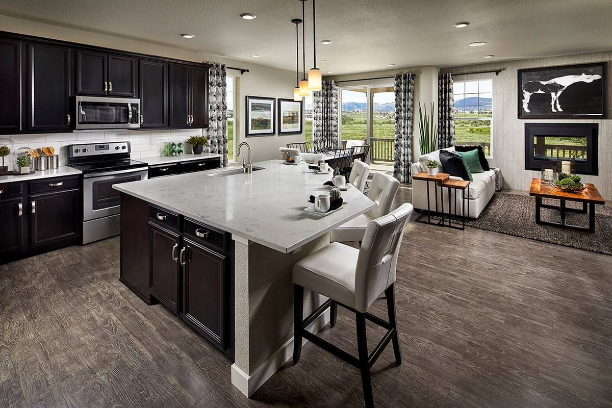 New Homes in Longmont, CO - The Reserve at Somerset Meadows  Crestview Overall View