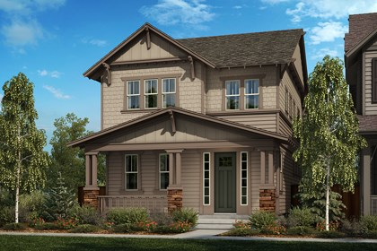 New Homes in Denver, CO - Elevation B