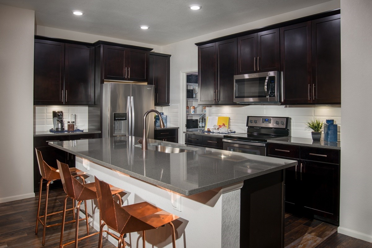 New Homes in Denver, CO - Stapleton Wildflower Collection Verbena Kitchen