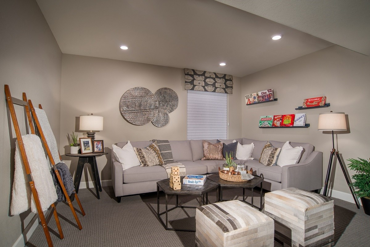 New Homes in Aurora, CO - Stapleton Villa Collection at Bluff Lake Maple Basement
