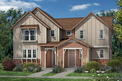 New Homes in Aurora, CO - Maple and Cedar - Elevation A