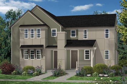 New Homes in Denver, CO - Maple and Cedar - Elevation C