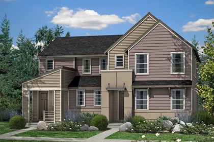 New Homes in Denver, CO - Maple and Hemlock - Elevation C