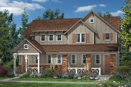 New Homes in Denver, CO - Hemlock and Hemlock - Elevation A