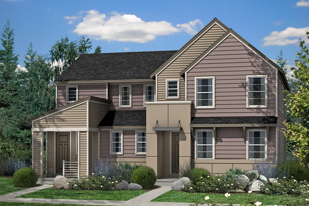 New Homes For Sale At Stapleton Villa Collection At Bluff