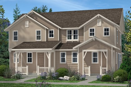 New Homes in Denver, CO - Cedar and Hemlock Elevation B