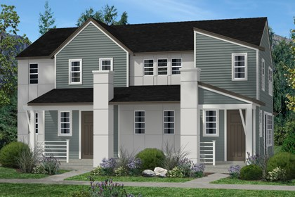 New Homes in Denver, CO - Cedar and Hemlock Elevation C