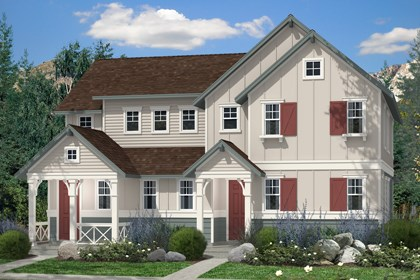 New Homes in Denver, CO - Hemlock and Maple Elevation A