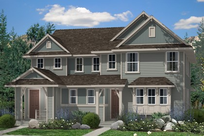 New Homes in Denver, CO - Hemlock and Maple Elevation B