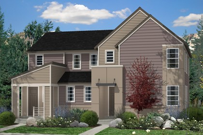 New Homes in Denver, CO - Hemlock and Maple Elevation C