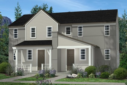 New Homes in Denver, CO - Cedar and Cedar Elevation C