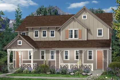 New Homes in Denver, CO - Hemlock and Hemlock Elevation A