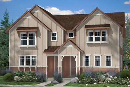 New Homes in Denver, CO - Maple and Maple Elevation A