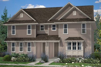 New Homes in Denver, CO - Maple and Maple Elevation B