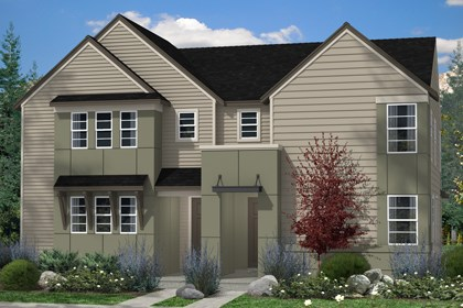 New Homes in Denver, CO - Maple and Maple Elevation C