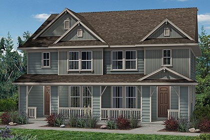 New Homes in Denver, CO - Spruce + Spruce - Elevation B