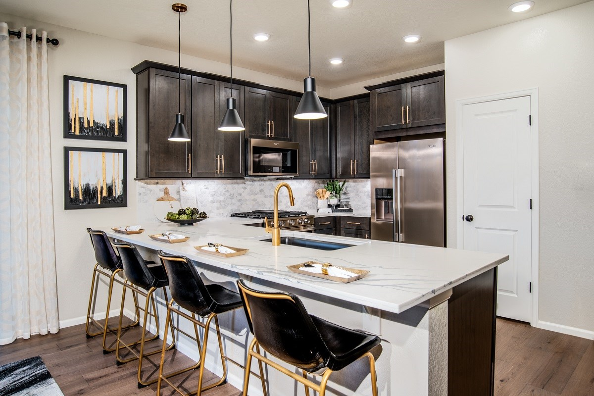 New Homes in Denver, CO - Stapleton Paired Homes - Villa Collection Maple - Kitchen
