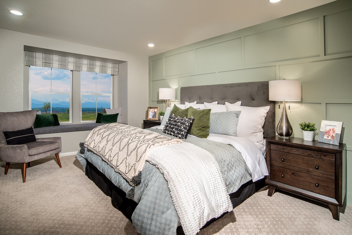 New Homes in Denver, CO - Stapleton Paired Homes - Villa Collection Maple - Master Bedroom