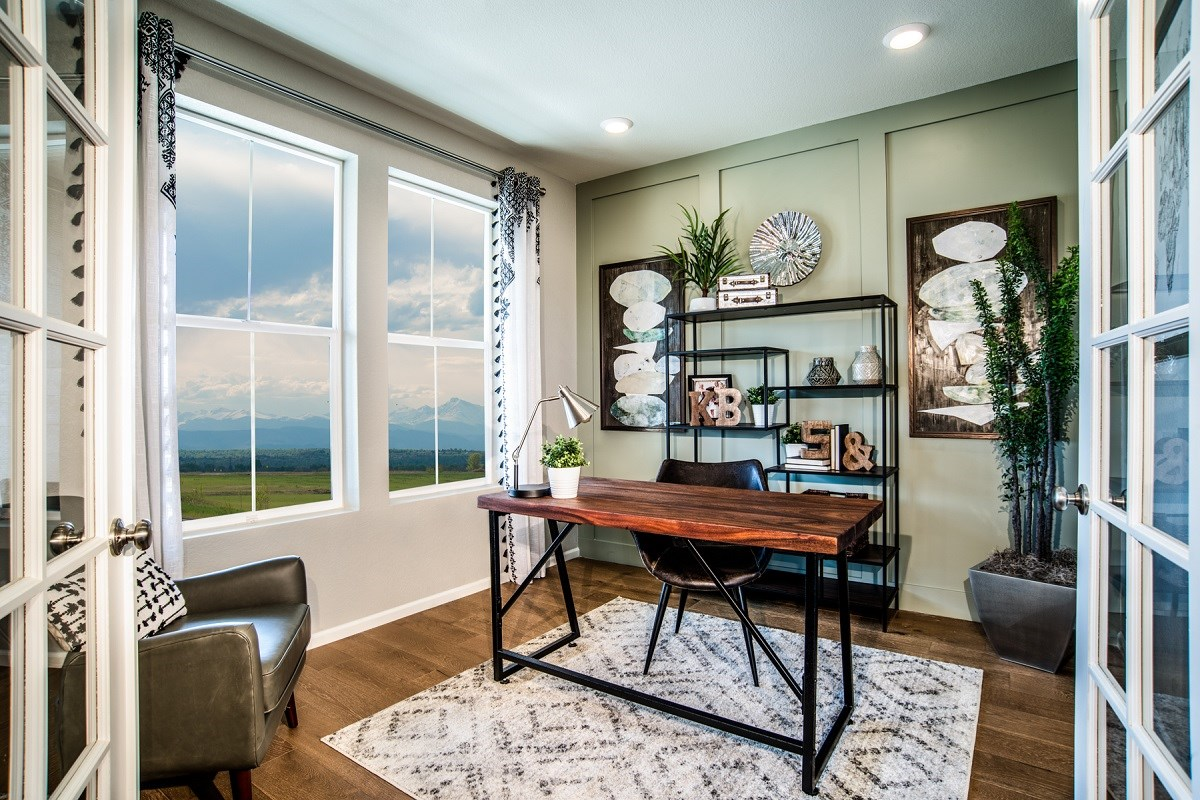 New Homes in Denver, CO - Stapleton Paired Homes - Villa Collection Spruce - Den
