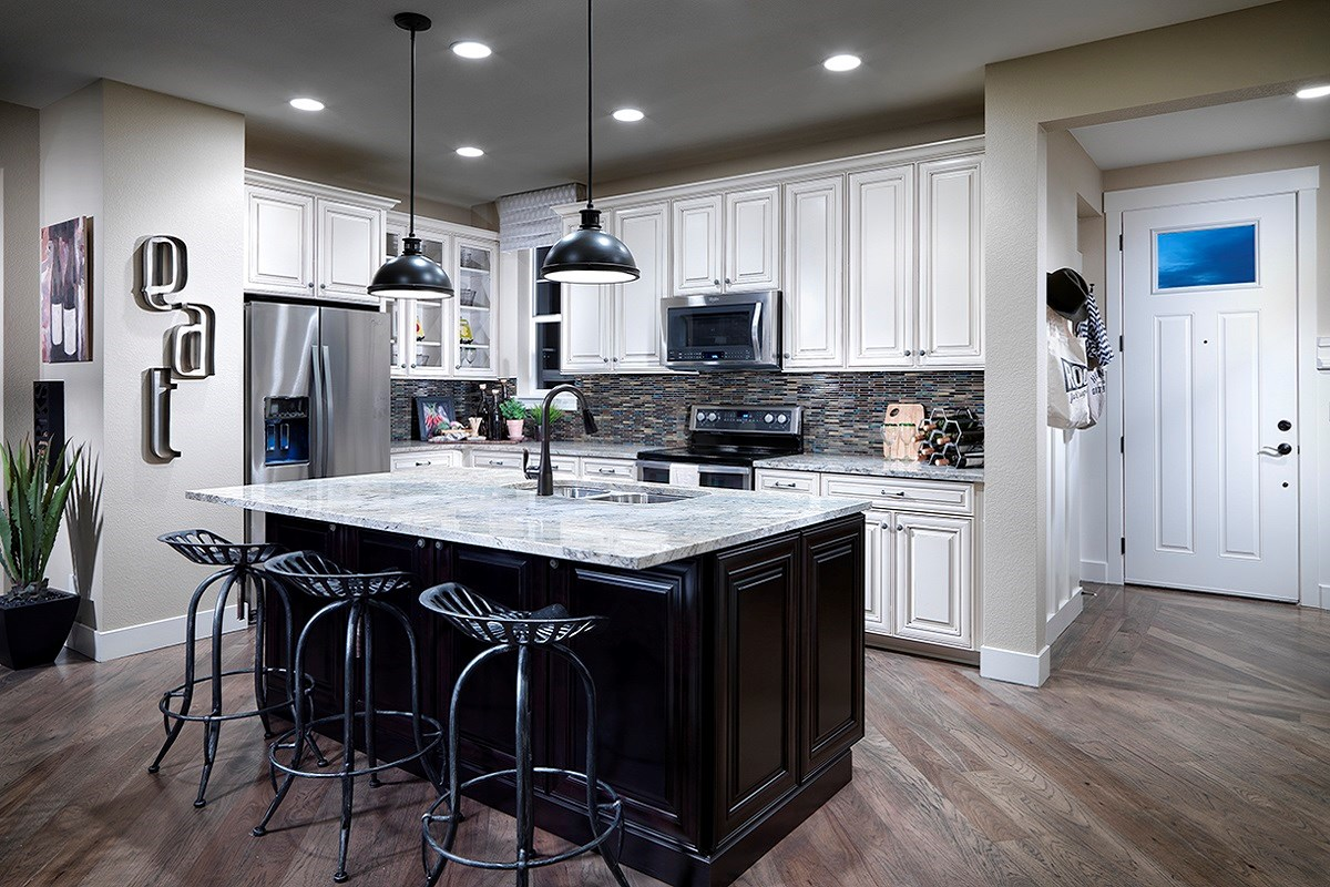 New Homes in Denver, CO - Stapleton Paired Homes - Villa Collection Cedar 1299 Kitchen