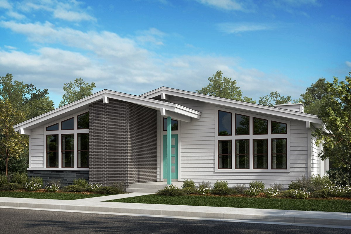 New Homes in Denver, CO - Stapleton Starlight Collection Cosmos - Elevation A