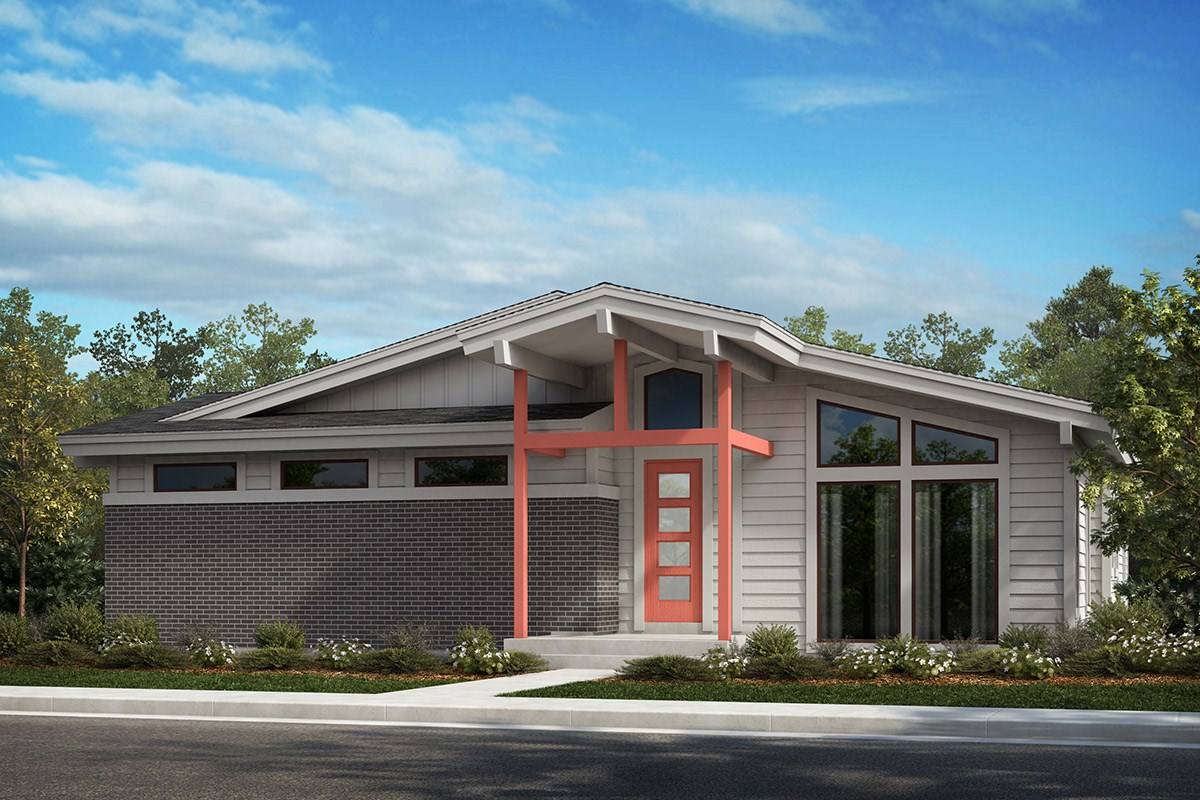 New Homes in Denver, CO - Stapleton Starlight Collection Moonbeam - Elevation A