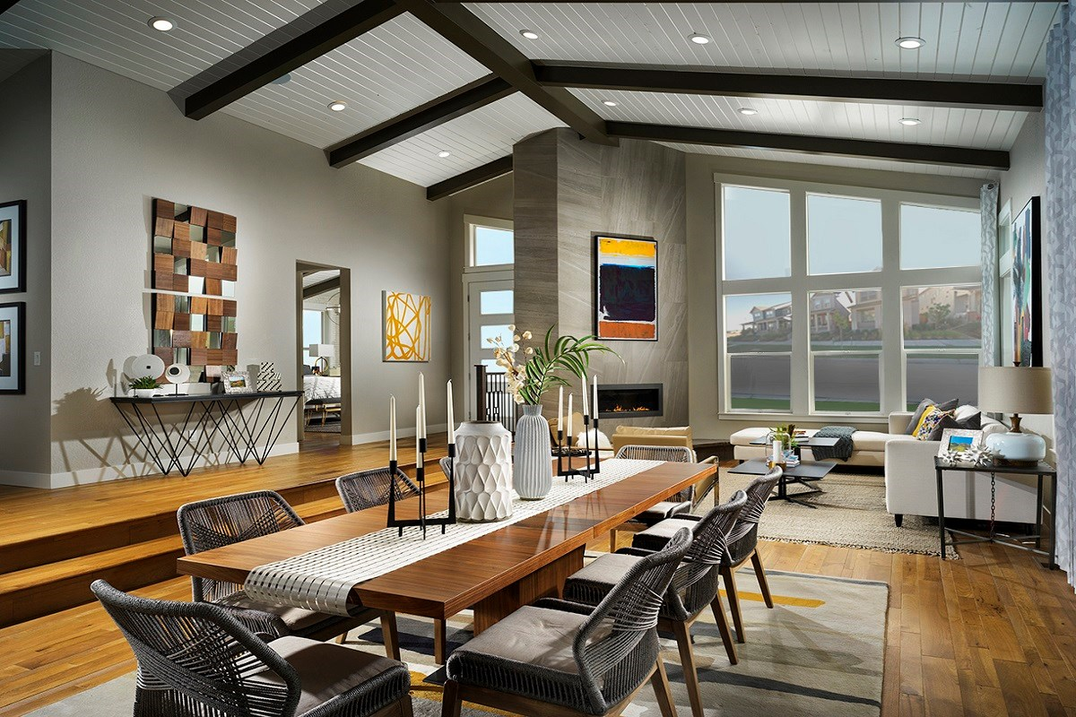 New Homes in Denver, CO - Stapleton Starlight Collection Eclipse Ranch Overall Great Room