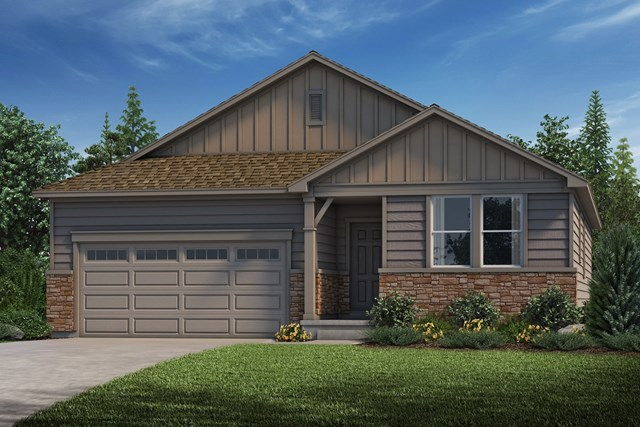 New Homes in Castle Rock, CO - Birch - Elevation A