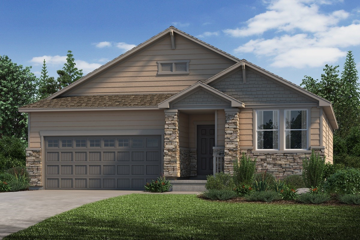 New Homes in Castle Rock, CO - Stone Creek Ranch Birch - Elevation C