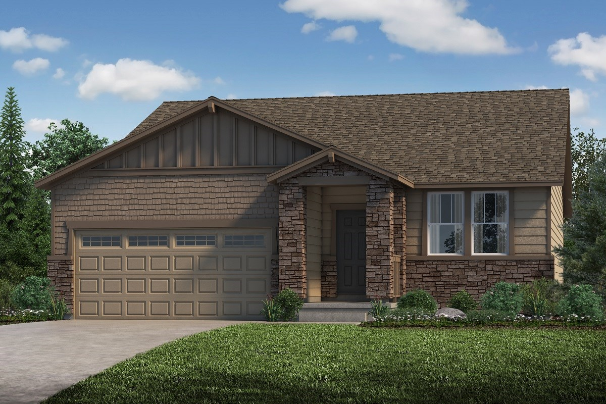 New Homes in Castle Rock, CO - Stone Creek Ranch Cottonwood - Elevation B