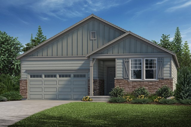 New Homes in Parker, CO - Crestview - Elevation A