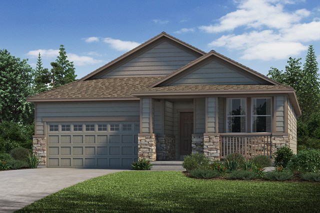 New Homes in Parker, CO - Crestview - Elevation C