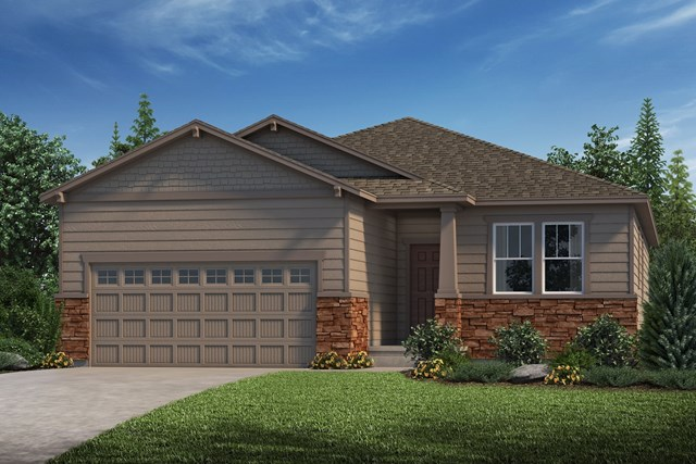 New Homes in Castle Rock, CO - Chaucer - Elevation C