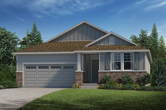 New Homes in Parker, CO - Hawthorn - Elevation A